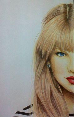 Taylor Swift pencil colors