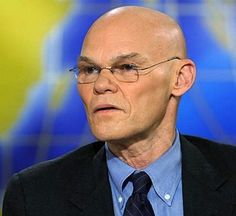 James Carville. Besides being a liberal moron, do they get any weirder looking than this guy?