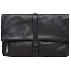 MM6 by Maison Martin Margiela Leather Clutch