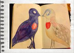 Paradis silencieux: Mignon: 25-26- 365: Deux oiseaux s'aimaient d'amour tendre ...