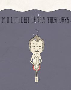 """""""I'm A Little Bit Lonely These Days."""" - Blume Art Print by Derek Eads 