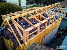 how to build a shed roof dormer - Google Search