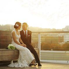 Amanda + Edward // Eastside Exchange, Portland Oregon wedding photo ideas // movingpictureweddings.com