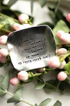 This SONG OF SOLOMON trinket dish is a perfect gift for a newly engaged couple as a wedding keepsake or as a photography prop for their wedding day. All dishes come beautifully and simply packaged in an eco-friendly kraft box and twine ready for gifting. About the item: • This is a hand cast Dainty Jewelry, Cute Jewelry, Jewelry Gifts, Handmade Jewelry, Wedding Keepsakes, Wedding Gifts, Wedding Day, Solomons Ring, Wedding Photography Props