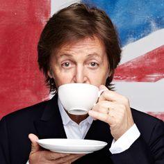 Sławy też wiedzą co dobre - herbata :)