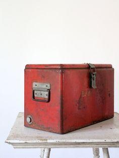 Vintage horton galvanized metal cooler all became