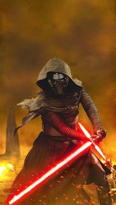 Star Wars VII - The Force Awakens / Kylo Ren!!!