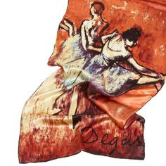 Silk Scarf with motif 034 The Dancer 034 by Edgar Degas silk screened by hand Edgar Degas, The Dancer, Scarf Styles, Fashion Scarves, Painting, Animals, Selection, Art, Ebay