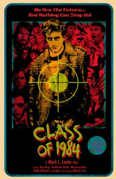"""whisperedtalesofgore:    """"Class Of 1984"""" for the Action Show."""