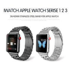 Apple Watch Nike, Apple Watch Bands, Metal Bracelets, Link Bracelets, Colour Blocking Fashion, Tortoise Color, Stainless Steel Metal, Metal Bands, Fashion Bracelets