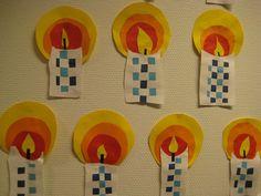 kaars met vlechtwerk Easy Toddler Crafts, Easter Crafts For Kids, Christmas Crafts For Kids, Advent Activities, Christmas Activities, Weaving For Kids, Kids Workshop, Christmas Art Projects, Cd Crafts