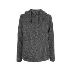 Topshop Maternity Topshop Branded Hoodie (£22) ❤ liked on Polyvore featuring maternity and dark grey