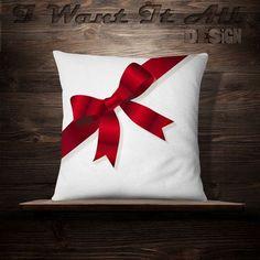 El regalo Arco Almohada Navidad Almohada de por iwantitalldesign