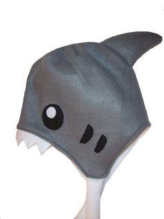 So adorable Shark Fleece Hat Beanie PDF Pattern Winter Halloween Costume Animal Kigurumi   eBay