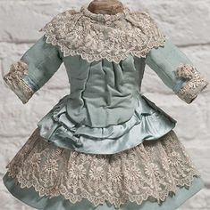 antique french doll dress | Antique Lace Dress - Clothing