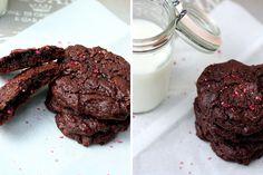Kochkarussell: Im Cookie-Himmel {Brownie-Cookies mit Olivenöl und Meersalz}