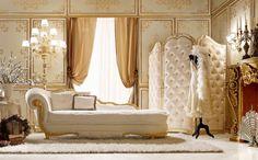 Living e Divani di lusso per la zona giorno classica in stile veneziano e fiorentino - Andrea Fanfani