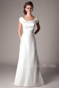 T4 wedding dress #type4 change the waist band to be a bold color