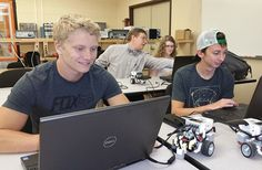 Pierpont is transforming how students learn robotics with LEGO Mindstorms!!!