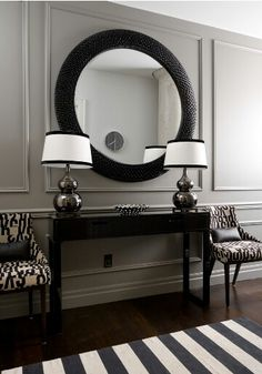 Monochrome decor!