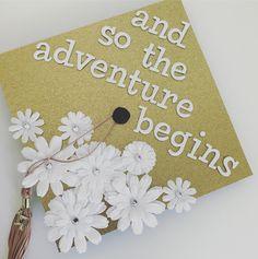 And so the adventure begins graduation cap #graduation #grad #cap #decorate