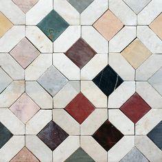 "127 Likes, 3 Comments - Serendipity Delhi (@serendipitydelhi) on Instagram: ""Venecia Tunisian handmade mosaic tiles. #tiles #tilefloor #pinterest"""