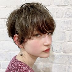 Popular belly short hair collection ♡ Impressive with arrangements and colors ♪ – Women's Style Shot Hair Styles, Long Hair Styles, Bob Hairstyles For Thick, Hair Dos, Short Hair Cuts, Her Hair, Hair Inspiration, Hair Makeup, Hair Color