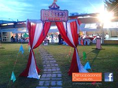 Fiesta temática Circo Infantil!!! #fiestatematica #fiestainfantil #invitaciones