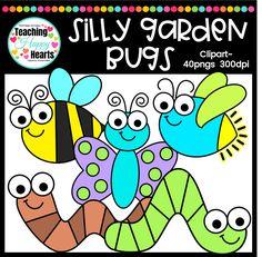 Garden Bugs Clipart