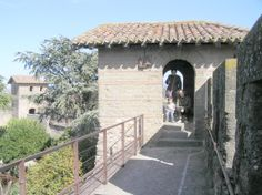Carcassonne. Castillo. Murallas.