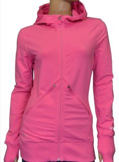 Nike Women's Running Jacket Hoodie-Pink « Clothing Impulse