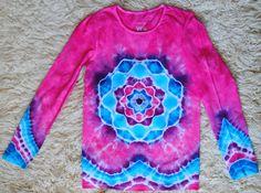 bd6433083b67 Batikované tričko vel. 146 152 - Něžné jaro   Zboží prodejce Happy Sunshine