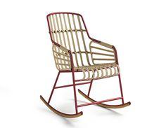 Rocking-chair Raphia, Casamania (Moda International)