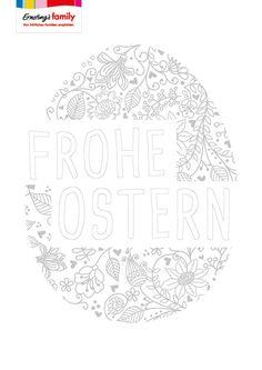 kostenloses e-book: schöne ausmalbilder zu ostern   malvorlagen ostern, ausmalbilder ostern und