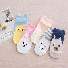 Japaese Harajuku Tokyo Cute Kawaii Dog Low Cut Short Soft Invisible Socks New