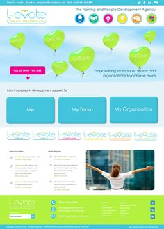 Holistic Approach training company web design