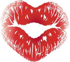 Lips kiss PNG image