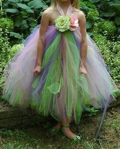 Evans Evans Harrison I like this one even better for a fairy :) Tinkerbell Tutu Dress by bumblebeeonline on Etsy