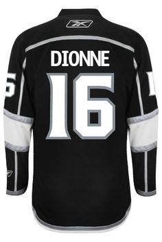 d51cc446d7c Los Angeles Kings VINTAGE Marcel DIONNE  16  A  Official Home Reebok  Premier Rep CoolHockey
