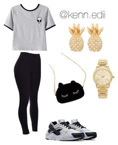 """"" by kennedii on Polyvore featuring NIKE, Chicnova Fashion, WithChic, Michael Kors and Lilly Pulitzer"