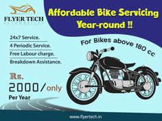 Our best package yet! Our expert mechanics wielding advanced tools are ready to take care of your sports bike for you  🙂 Full details here: https://goo.gl/BqMYBs #Flyertech #Doorstepservice #Bikeservice
