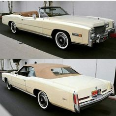 1976 Cadillac Eldorado Convertible Cadillac Eldorado, Cadillac Ats, American Classic Cars, American Muscle Cars, American Pride, 2015 Jeep Wrangler, Jeep Wrangler Unlimited, Convertible, Ford Taurus Sho