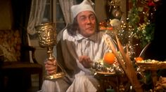Scrooge with Albert Finney - Great movie and will help you appreciate Christmas for what it was and is meant to be!
