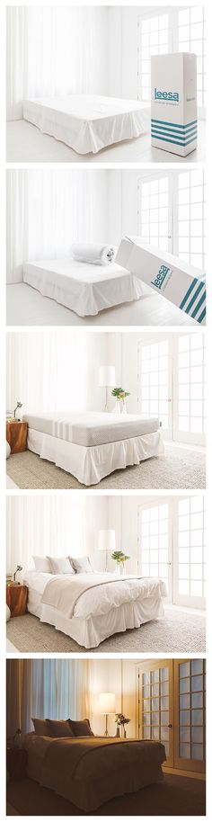 Try the Leesa mattress for 100 nights with free shipping and easy returns. It�s 100% American made and, though it sounds crazy, it ships compressed in a box and it still feels great! We think it will be �love at first night,� but if not, one of our recycling partners will pick it up and we�ll refund you in full.