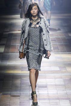 Lanvin Spring 2014 Ready-to-Wear Fashion Show - Jamie Bochert (OUI)