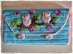 Creazioni Rita C. ... Only Handmade!: Ogni Uncinetto al suo posto... Una custodia davvero originale!