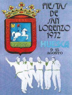 Fiestas de San Lorenzo, año 1972