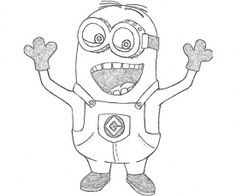 1 Despicable Me 2 Coloring Page