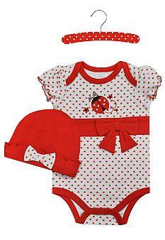 Nursery Rhyme Ladybug Creeper Set Baby Rhymes