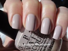 Steady As She Rose OPI shade nail polish that I found in San Fran.  Love it and I have got a ton of compliments!